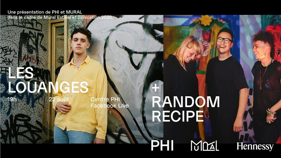 Mural festival présente les louanges et random recipe